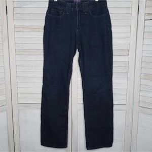NYDJ Not Your Daughters Straight Jeans 4P Blue